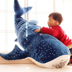 Giant Stuffed Animal Whale Shark Plush Toy