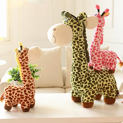 Big Giraffe Sika Deer Stuffed Animal Plush