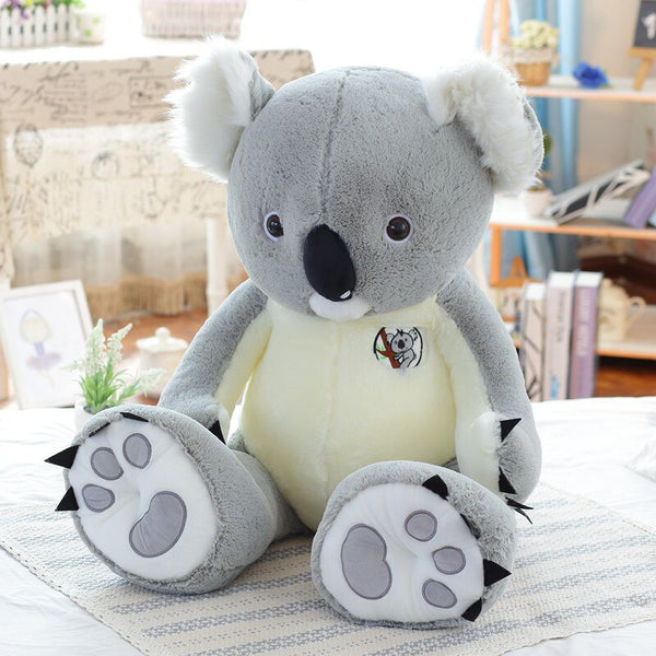 Big Stuffed Koala Bear Animal Plush - Way Up Gifts