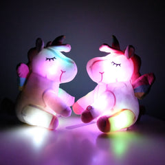 Big Light Up Stuffed Unicorn