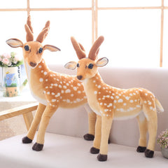 Realistic Deer Stuffed Animal Plush