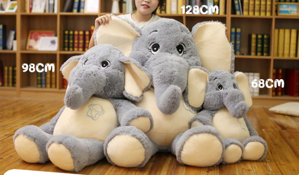 Big Stuffed Elephant Plush Toy - Way Up Gifts