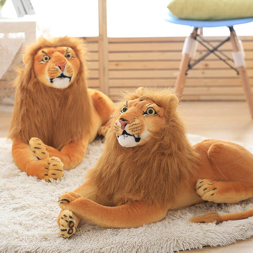 Big Lion Stuffed Animal Lifelike Plush