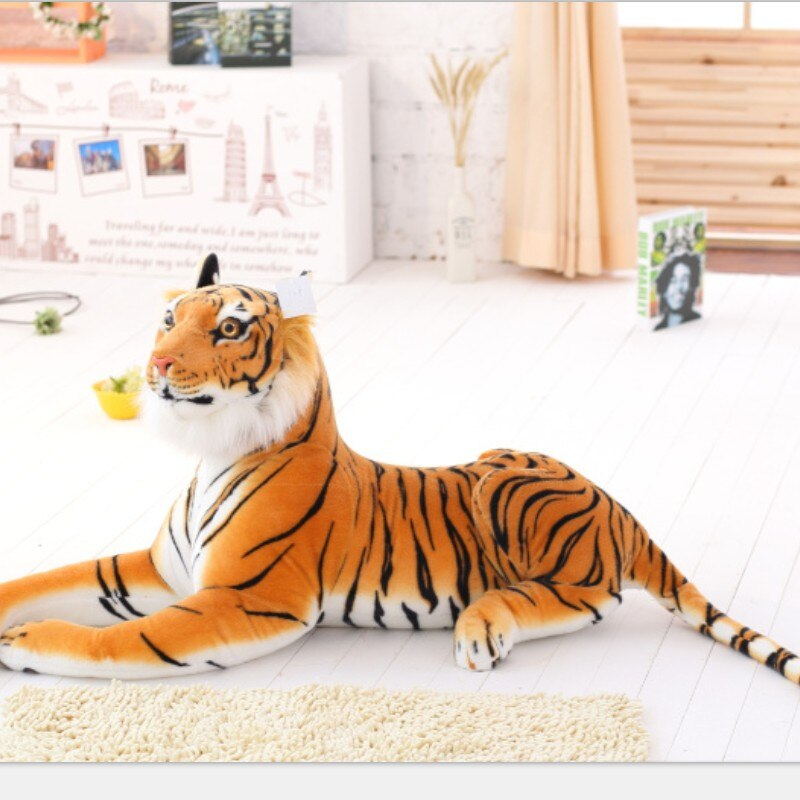 Giant Stuffed Animal Bengal Tiger Plush Toy - Way Up Gifts
