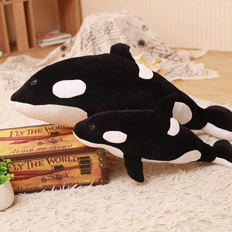 Big Orca Whale Stuffed Animal Plush - Way Up Gifts