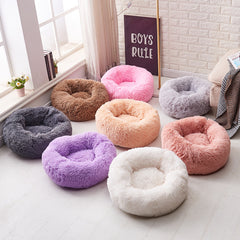 Donut Cuddler Warm Calming Dog Bed