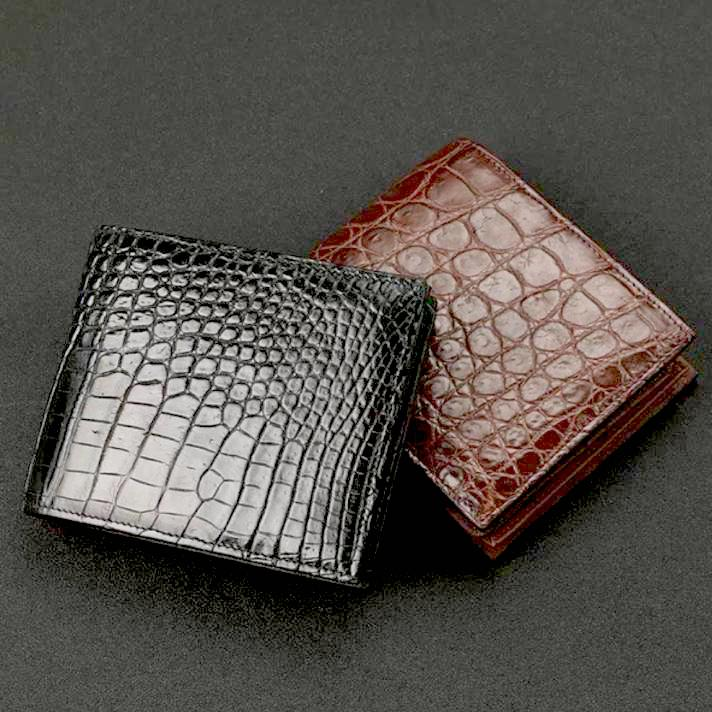 Handmade Crocodile Wallet - Way Up Gifts