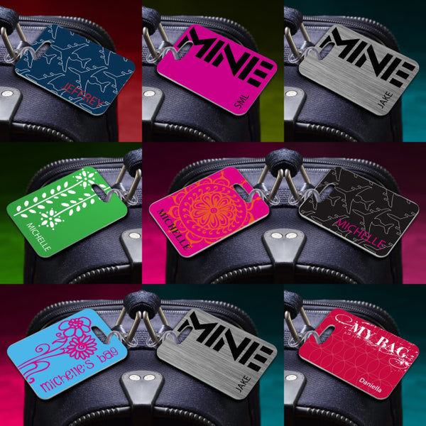 Personalized Name Luggage Tag  Personalized Gifts - Way Up Gifts