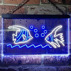 Aquarium Fish Pet Store LED Neon Light Sign