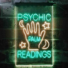 Fortune Teller Psychic Palm Readings LED Neon Light Sign