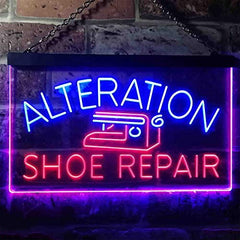 Alteration Shoe Repair LED Neon Light Sign