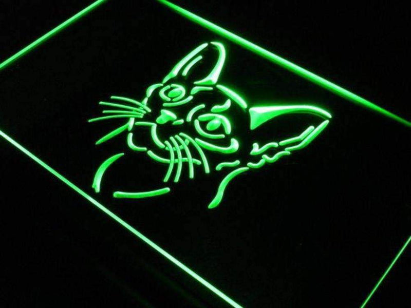 Abyssinian Cat LED Neon Light Sign - Way Up Gifts