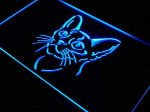Abyssinian Cat Neon Sign (LED)-Way Up Gifts