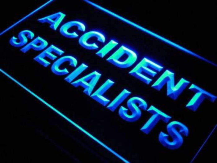 Accident Specialists Neon Sign (LED)