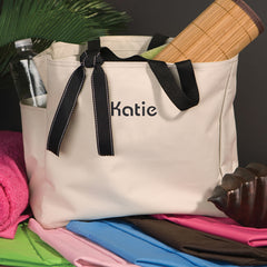 Personalized Addie Tote Bag