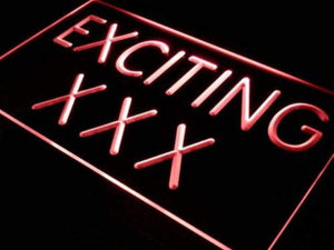 Adult Store Exciting XXX Neon Sign (LED)-Way Up Gifts
