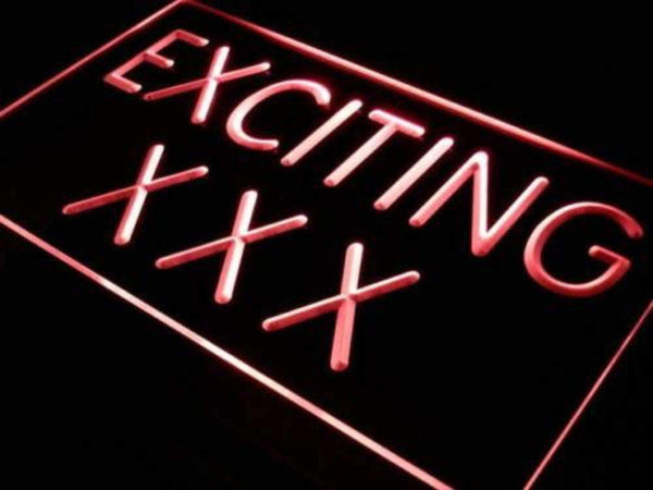 Adult Store Exciting XXX LED Neon Light Sign - Way Up Gifts