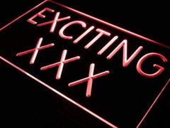 Adult Store Exciting XXX LED Neon Light Sign