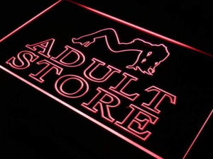Adult Store XXX Neon Sign (LED)-Way Up Gifts