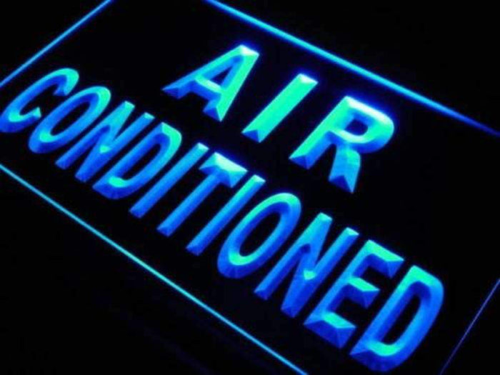 Air Conditioned Building Neon Sign (LED)
