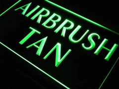 Airbrush Tan LED Neon Light Sign