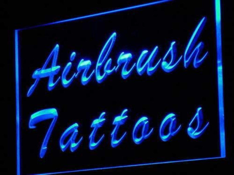 Airbrush Tattoos LED Neon Light Sign - Way Up Gifts