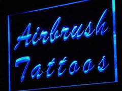 Airbrush Tattoos LED Neon Light Sign