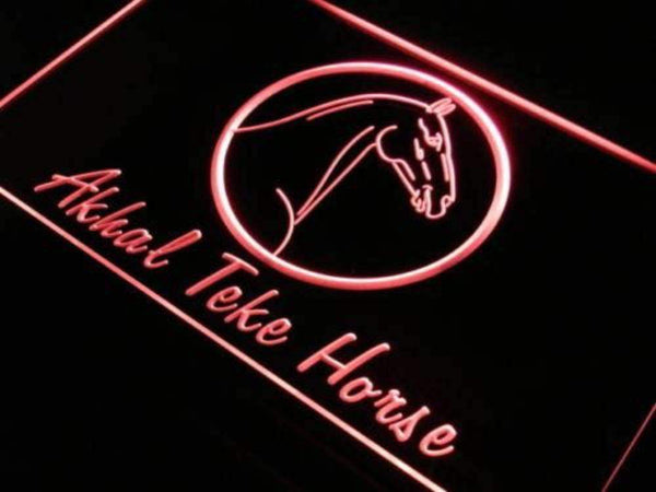 Akhal Teke Horse Neon Sign (LED)-Way Up Gifts