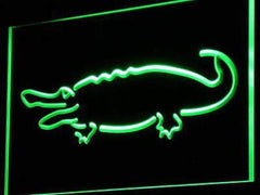 Alligator Crocodile LED Neon Light Sign