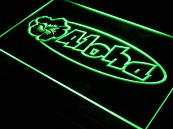 Aloha LED Neon Light Sign - Way Up Gifts