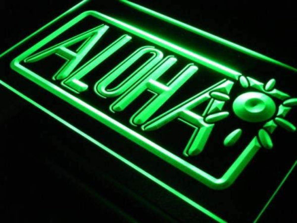 Aloha Sun LED Neon Light Sign  Business > LED Signs > Uncategorized Neon Signs - Way Up Gifts