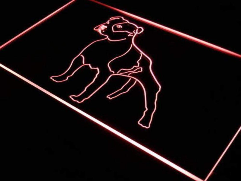 American Bulldog LED Neon Light Sign - Way Up Gifts