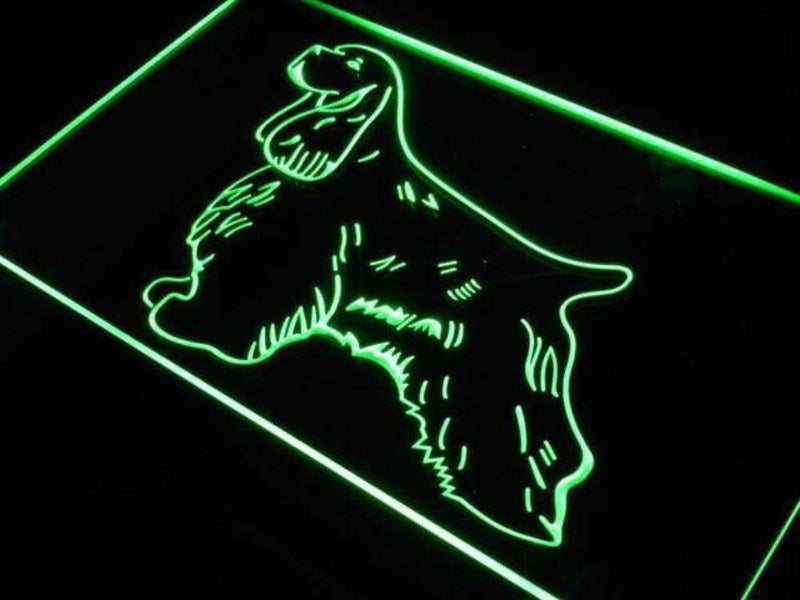 American Cocker Spaniel LED Neon Light Sign - Way Up Gifts