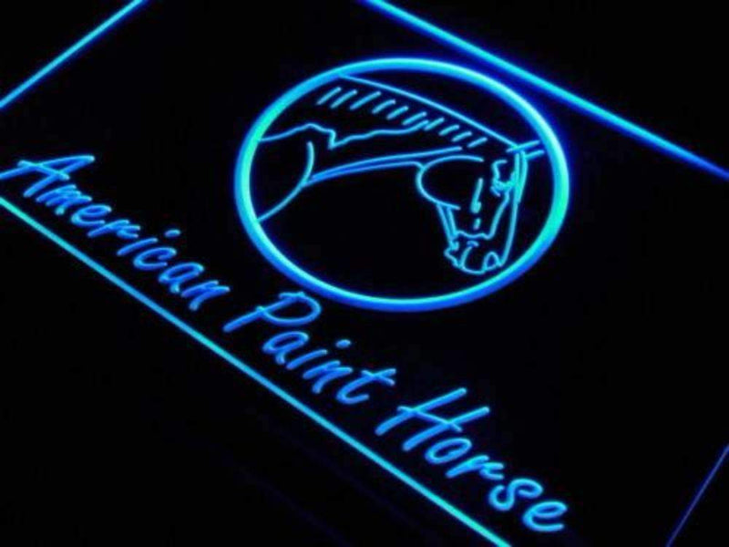 American Paint Horse LED Neon Light Sign - Way Up Gifts