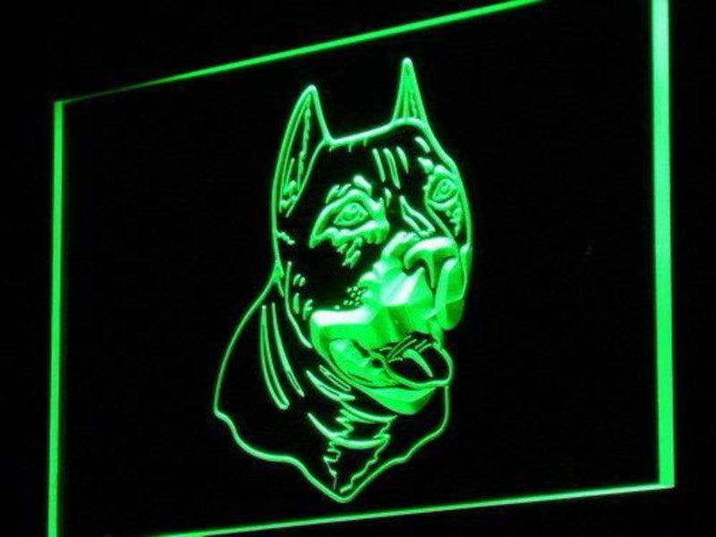 American Pit Bull Terrier LED Neon Light Sign - Way Up Gifts