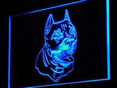 American Pit Bull Terrier LED Neon Light Sign