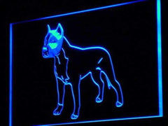 American Staffordshire Terrier LED Neon Light Sign