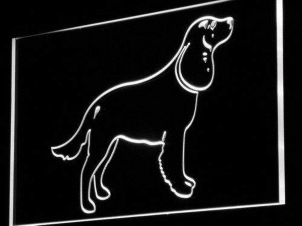 American Water Spaniel LED Neon Light Sign  Business > LED Signs > Dog Neon Signs - Way Up Gifts