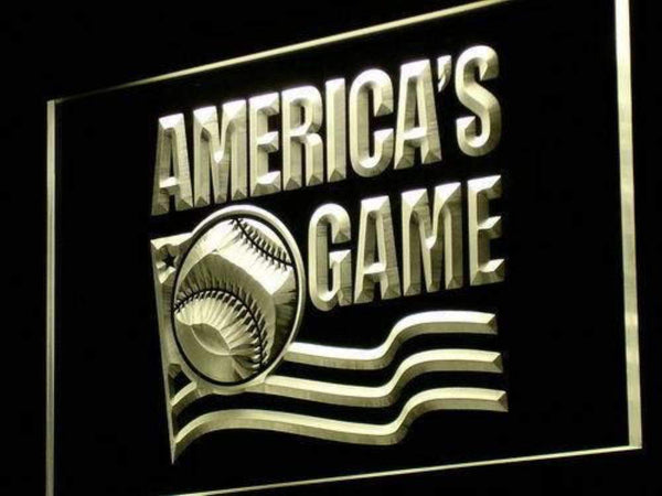 America's Game Baseball LED Neon Light Sign  Business > LED Signs > Uncategorized Neon Signs - Way Up Gifts