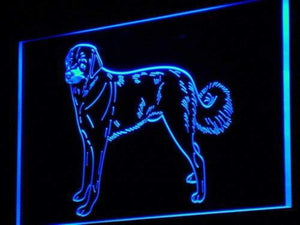 Anatolian Shepherd Neon Sign (LED)-Way Up Gifts