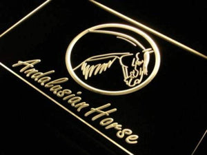 Andalusian Horse Neon Sign (LED)-Way Up Gifts