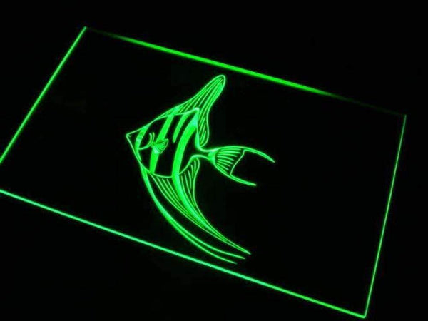 Angel Fish Angelfish LED Neon Light Sign - Way Up Gifts