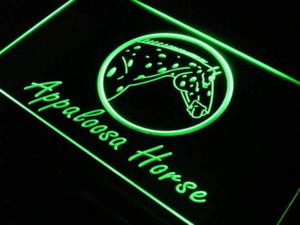 Appaloosa Horse Neon Sign (LED)-Way Up Gifts