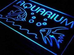 Aquarium Fish Lure LED Neon Light Sign
