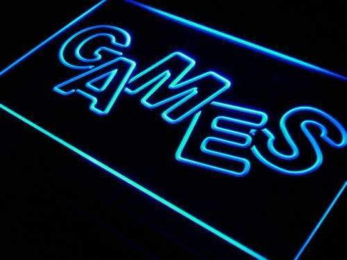 Arcade Games Neon Sign (LED)