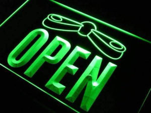 Arcade Pinball Open Neon Sign (LED)-Way Up Gifts