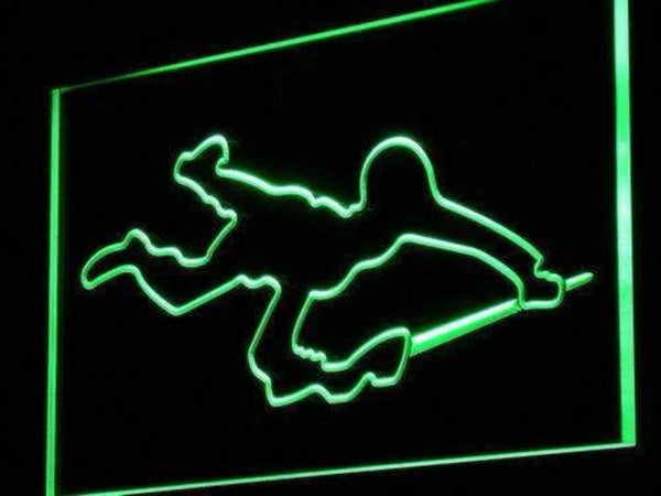 Army Soldier Military Neon Sign (LED)-Way Up Gifts