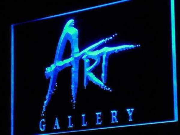 Art Gallery Neon Sign (LED)-Way Up Gifts