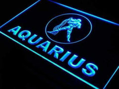 Astrology Zodiac Aquarius LED Neon Light Sign