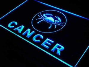 Astrology Zodiac Cancer Neon Sign (LED)-Way Up Gifts